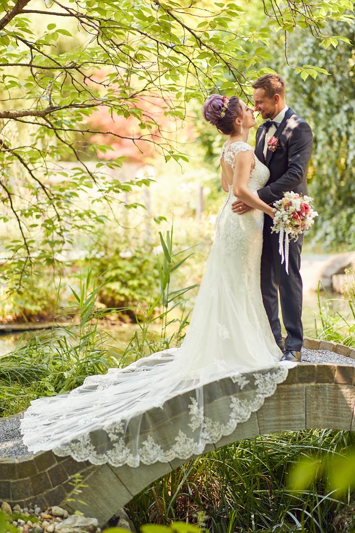 Garden Wedding Melanie & Roman