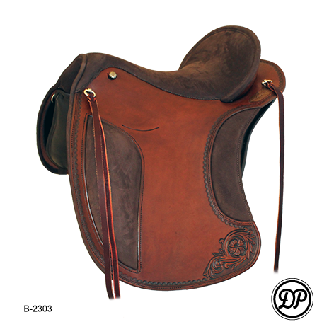 1212 El Campo with rawhide stitching