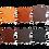 Thumbnail: FL02 Wool felt pad Impuls, El Campo Grey or White