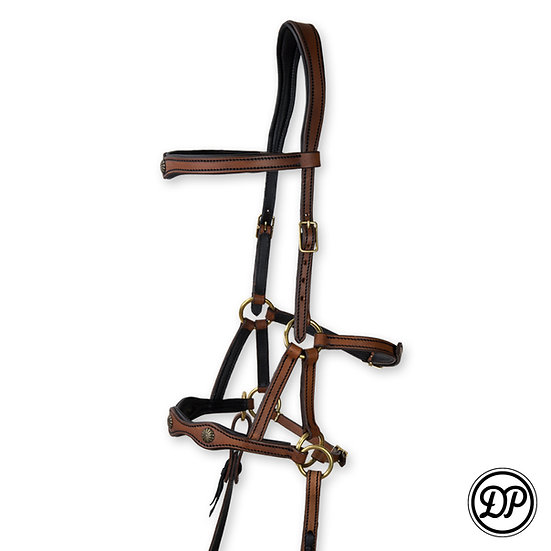 SF02 Soft Feel Sidepull Deluxe (no reins)