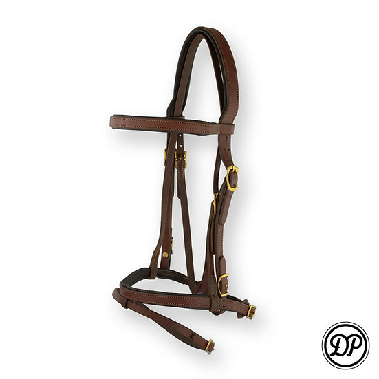 SF40 Soft Feel English Headstall with Noseband