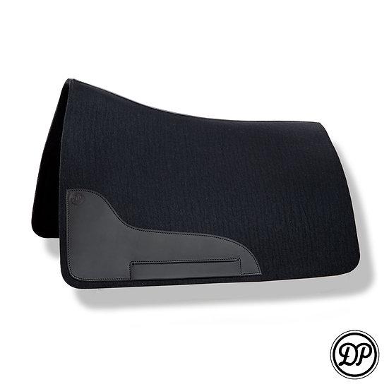 FL04 Wool felt pad Bueckeburger/Amarant black