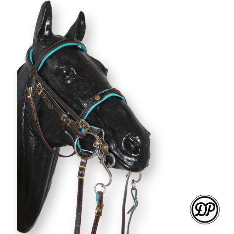 SF21+SF22 Soft Feel Double Bridle Deluxe (no reins)