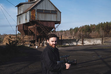 Mark Dominic Devlin. Director. On location