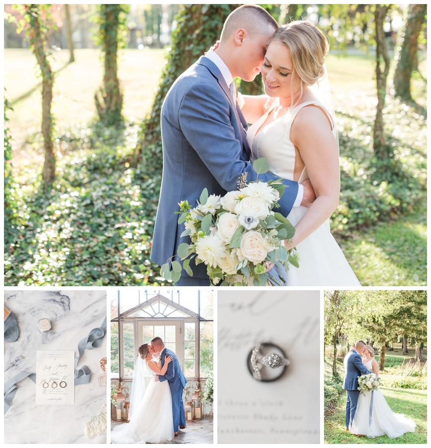 EMILY & JOHNNY -  HISTORIC SHADY LANE FALL WEDDING