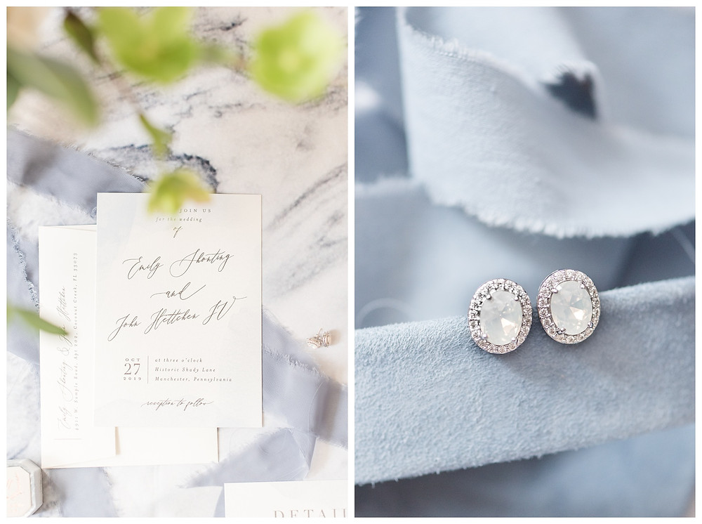 gray-blue-periwinkle-wedding-details-copper-white-histoic-shady-lane-fall-wedding