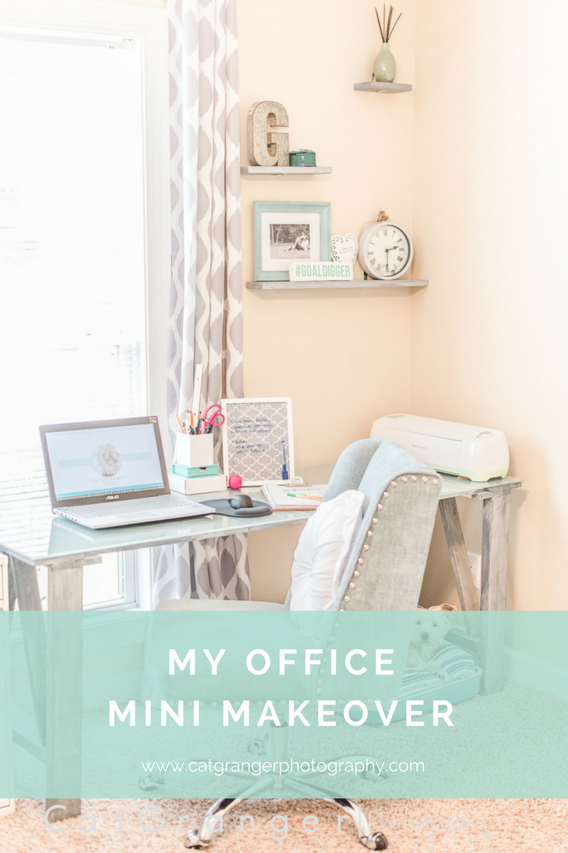 MY OFFICE MINI MAKEOVER