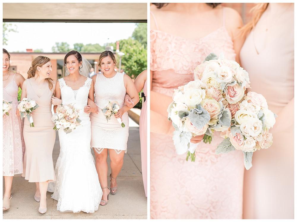 Cat-Granger-Photography-Wedding-photographer-summer-2019--bride-stella-york-wedding-gown-blue-suits-shrine-of-saint-jude-catholic-church-bridal-party-groomsmen-bridesmaids-posing