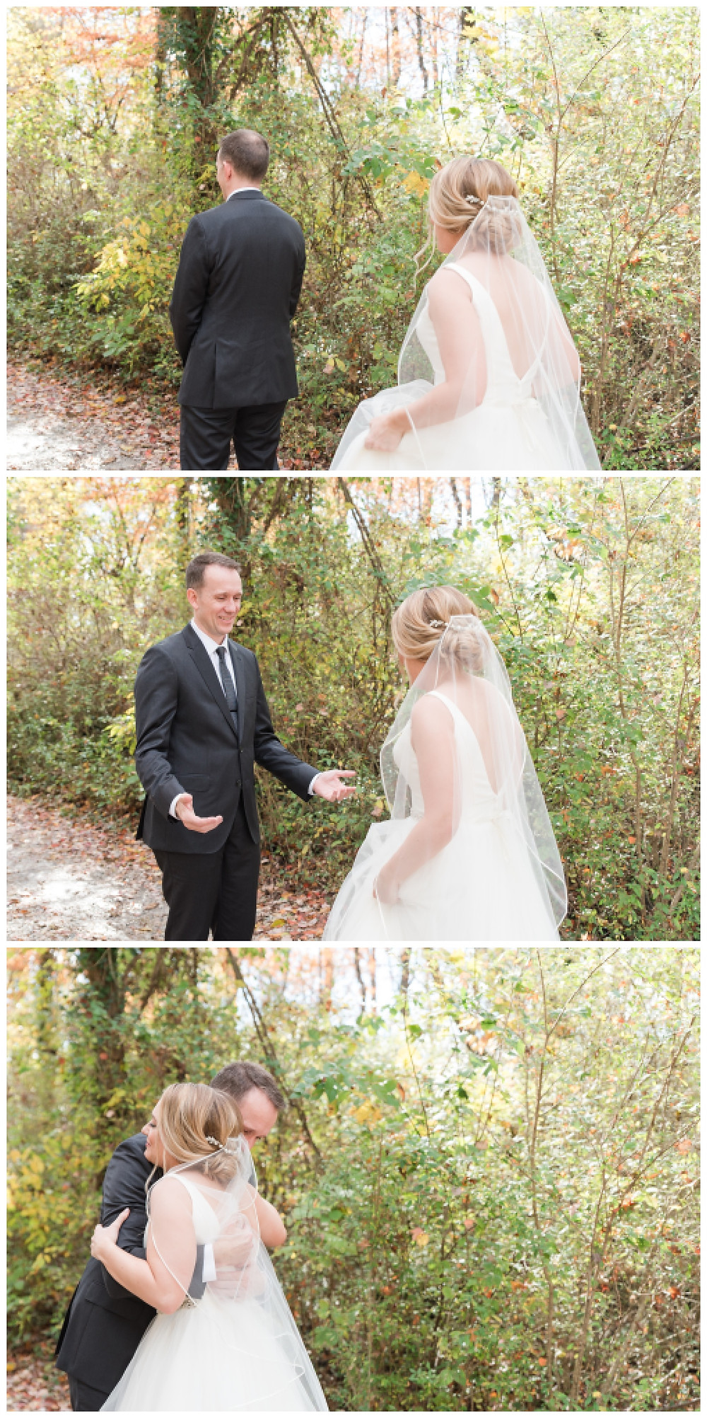 Daddy-daughter-first-look Historic-shady-lane-cat-granger-photography-fall-wedding-stella-york