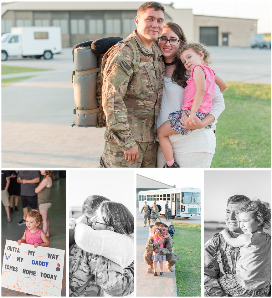 MOODY AIR FORCE BASE - THE CAMUNAS FAMILY - HOMECOMING