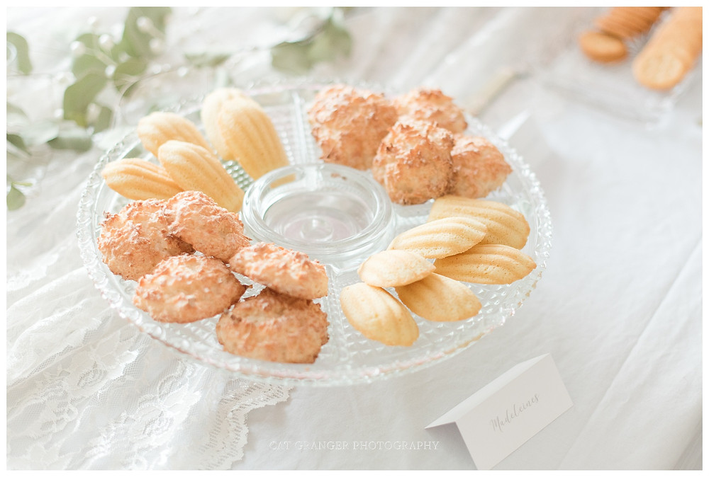 macaroons Madeleines birthday party french theme