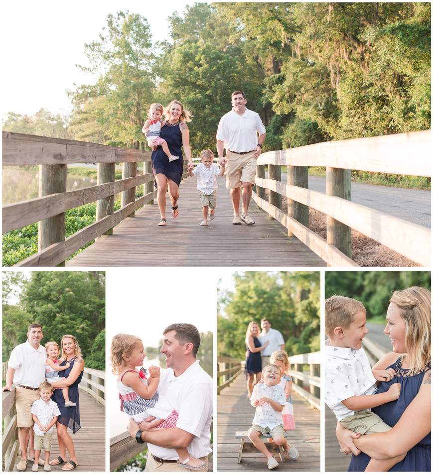MOODY AIR FORCE BASE FAMILY SESSION - THE MIDDLETON FAMILY