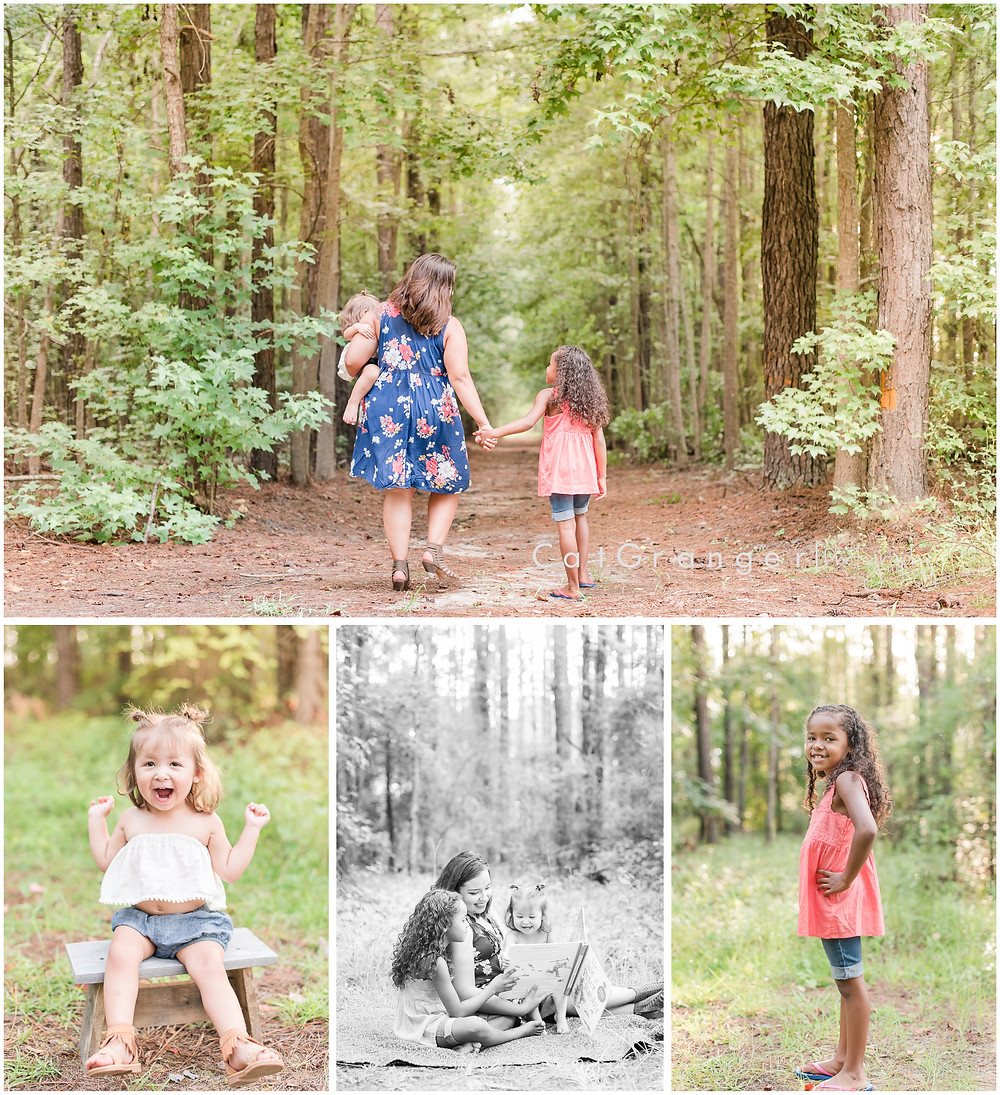 mommy and me outdoor photo session