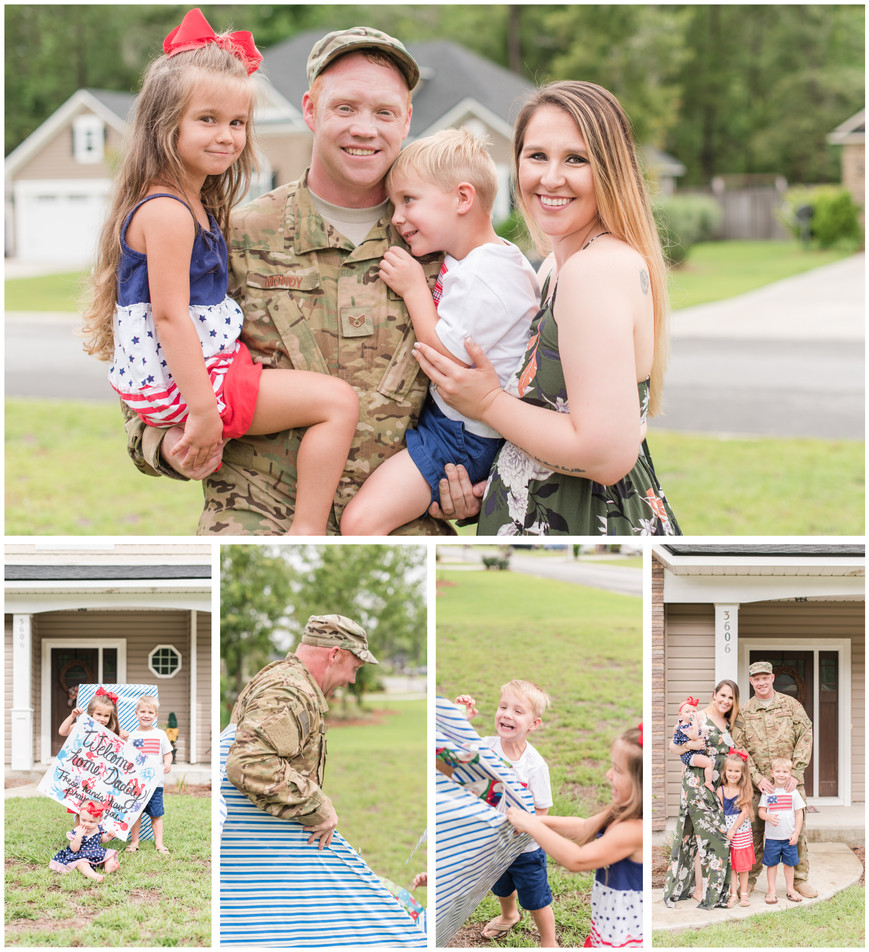 MOODY AIR FORCE BASE - THE MONDY FAMILY - HOMECOMING