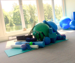 props used in both the pilates & 4Rs cla