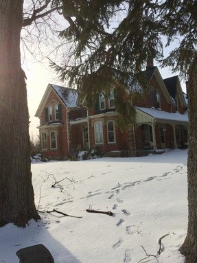 The grand old victorian home