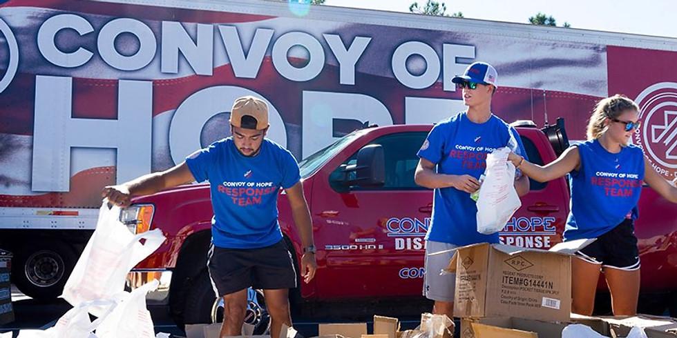 Food Giveaway Prep Day