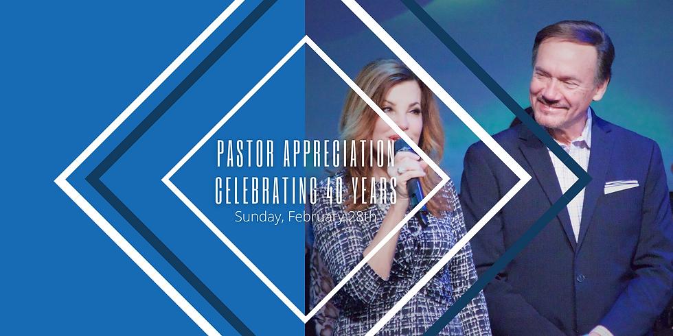Pastor Appreciation Sunday!