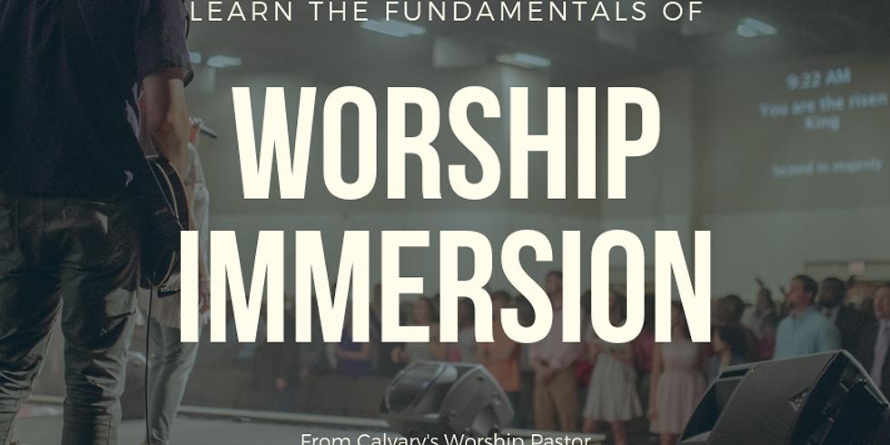 Worship Immersion