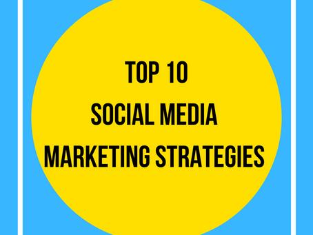 Top 10 Tips To Increase Social Media Marketing!