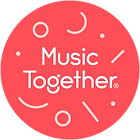 Red circle logo - MusicTogether Shapes R