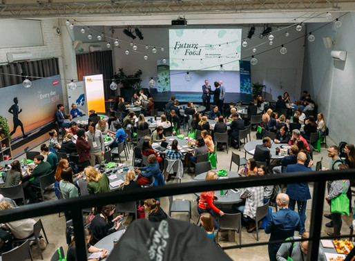 Spreading our vision at Riga's Future of Food Hackathon