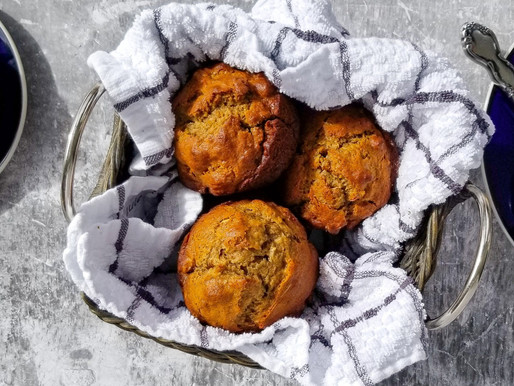 Powdies Secret Recipe (Part 1): Golden Banana Muffins