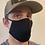 Thumbnail: Adult Black Out Heat Straps Mask