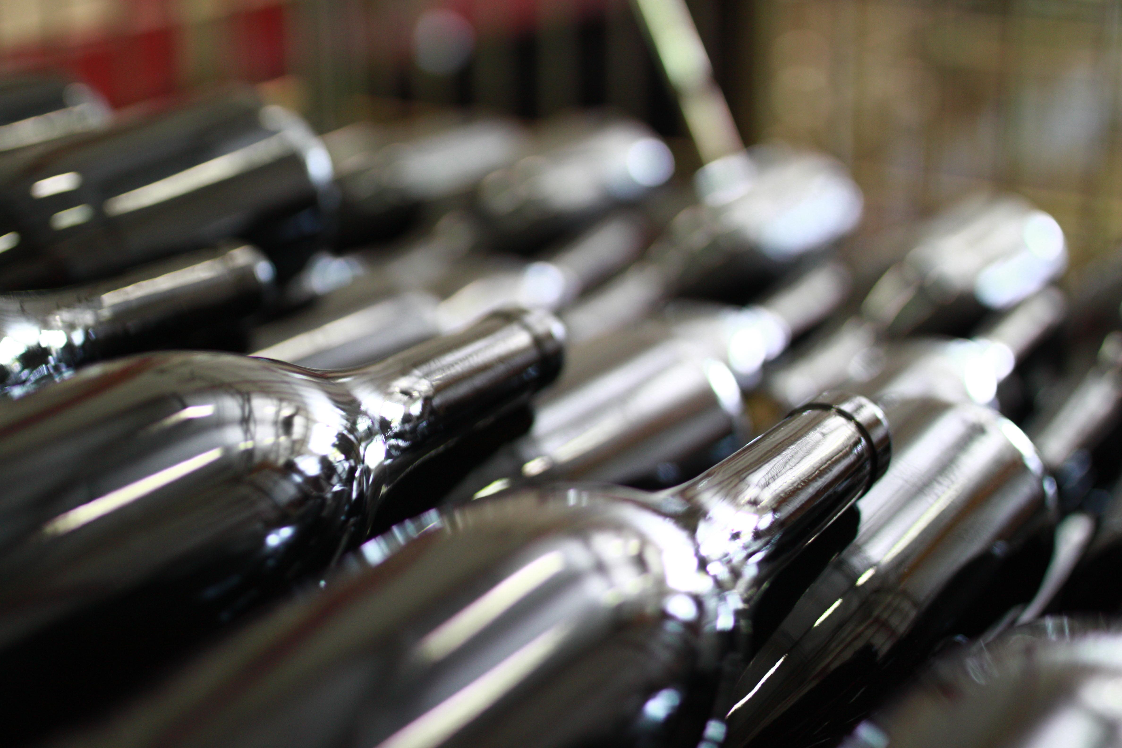 Mise en bouteilles du Vaillance