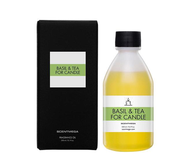BASIL&TEA CANDLE SCENT