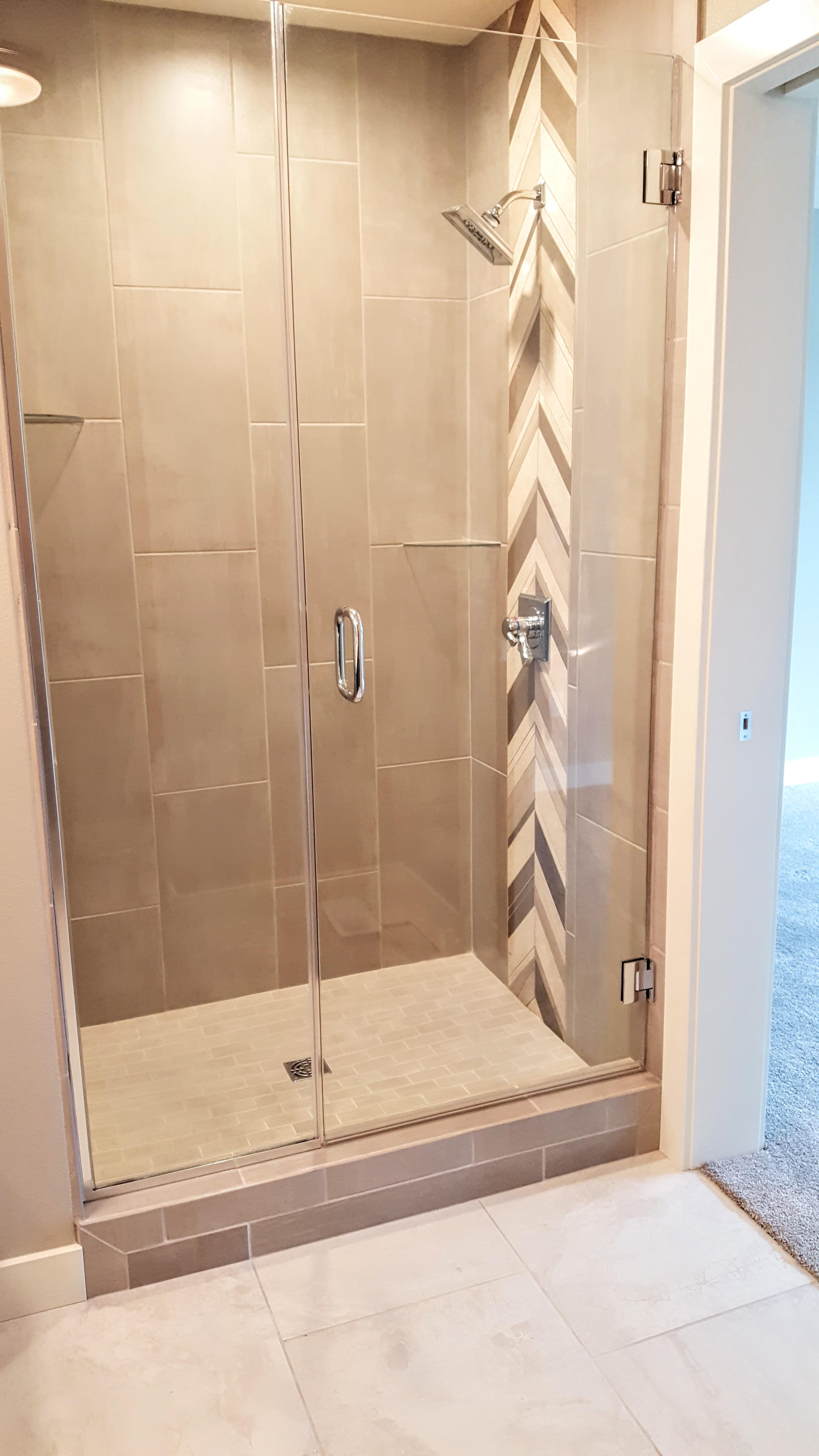 "3/8"" Glass Shower Enclosure"