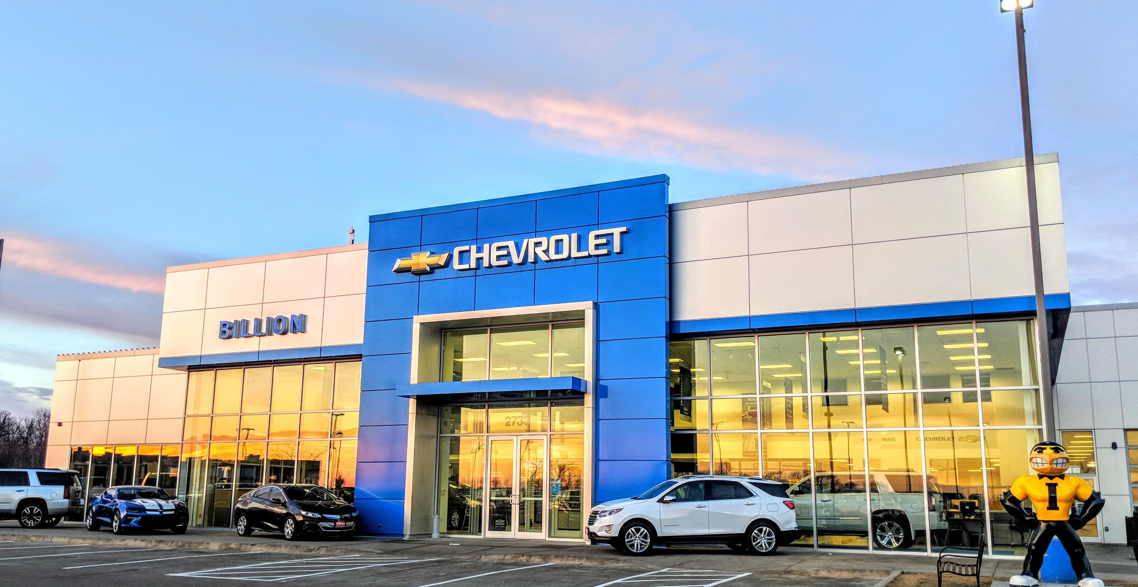 Billion  Chevrolet - Iowa City