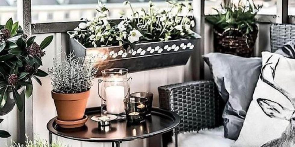 Conseils et idées pour décorer un petit balcon