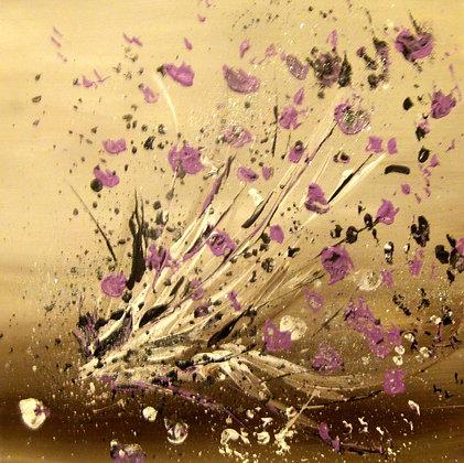 Nuée de violettes - N°404