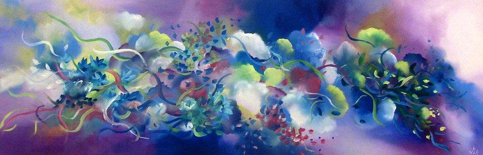 Bouquet abstrait- N° 466