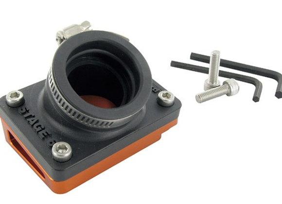 Sistema de admisión Stage6 R / T cuña corta + diámetro de tubo. 28 mm Piaggio NR