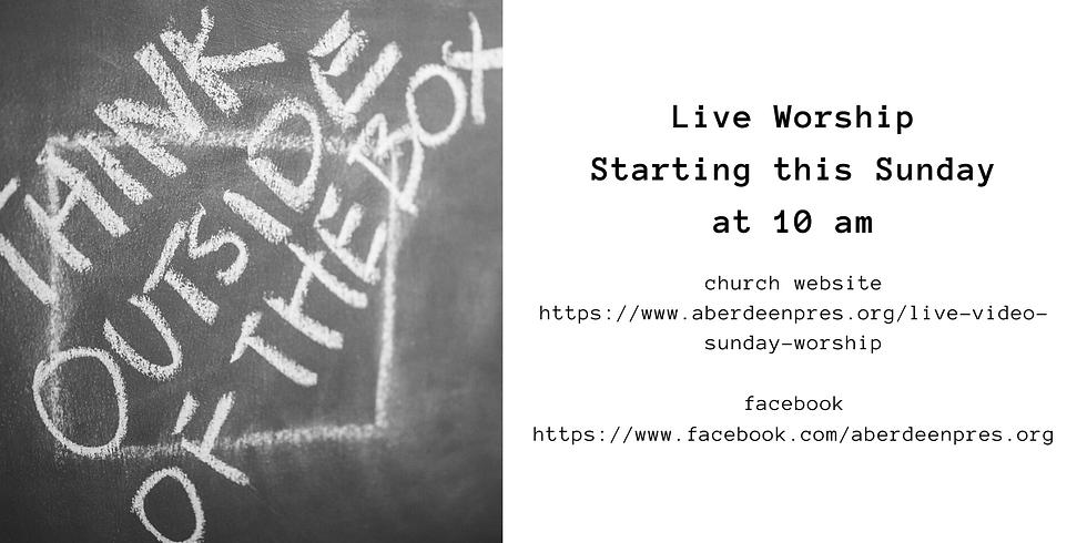 Live Worship with Pastor Doug 03/29/20