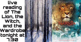 Live Read: The Lion, The Witch & The Wardrobe by CS Lewis