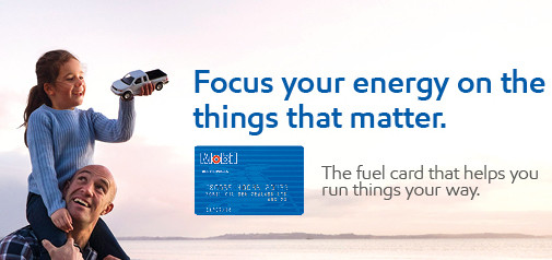 Mobil fuel card selling a lifestyle