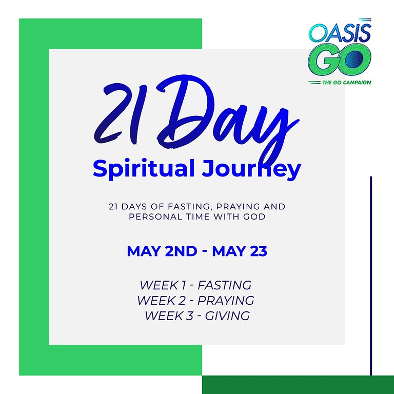 21 DAY SPIRITUAL JOURNEY