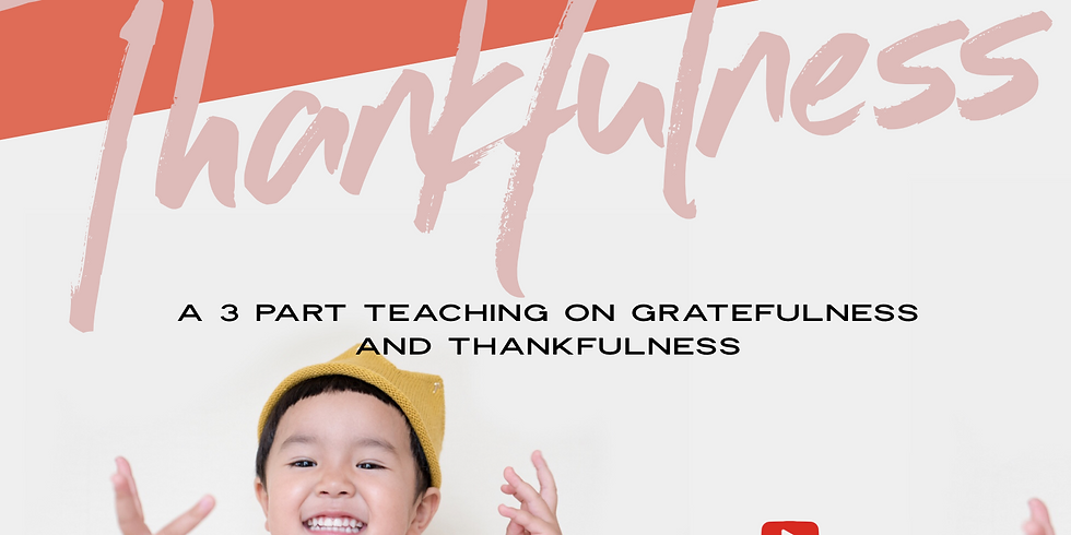 GIVE THANKS! | Every Day Can Be Thanksgiving  (1)