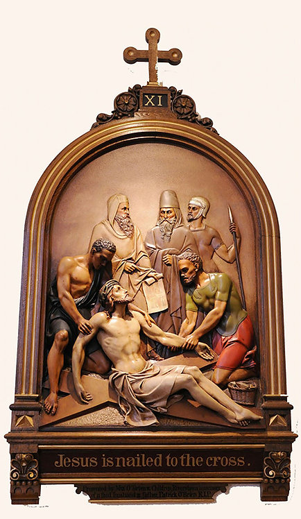 Station 11: Jesus is Nailed to the Cross