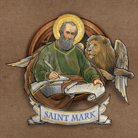 St Mark - Dome Mural