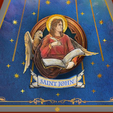 St John - Dome Mural