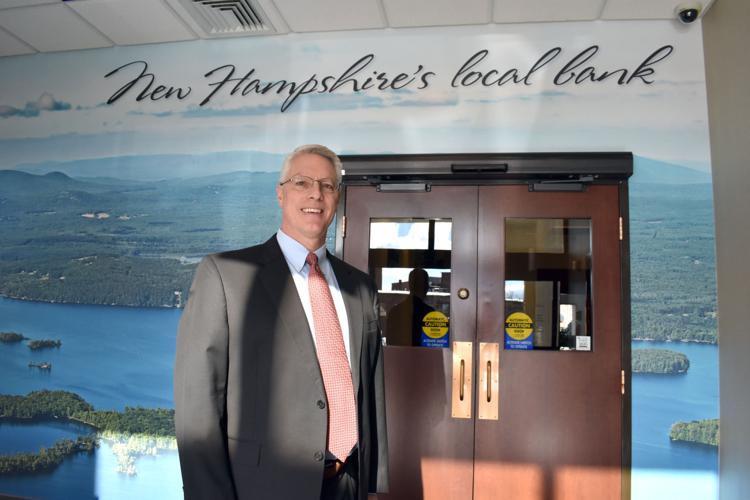 Bank of NH President Paul Falvey. (Adam Drapcho/The Laconia Daily Sun file)