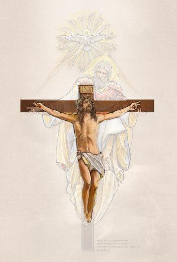 Retablo Crucifix