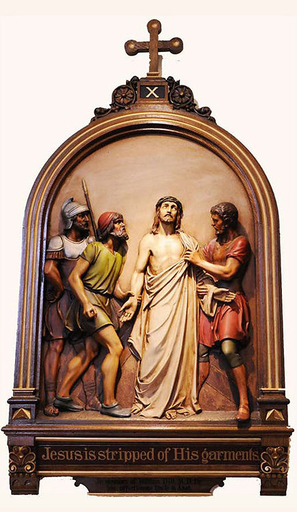 Station 10: Jesus is Stripped of His Garments