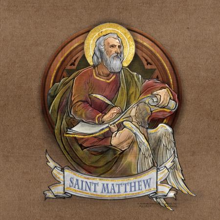St Matthew - Dome Mural