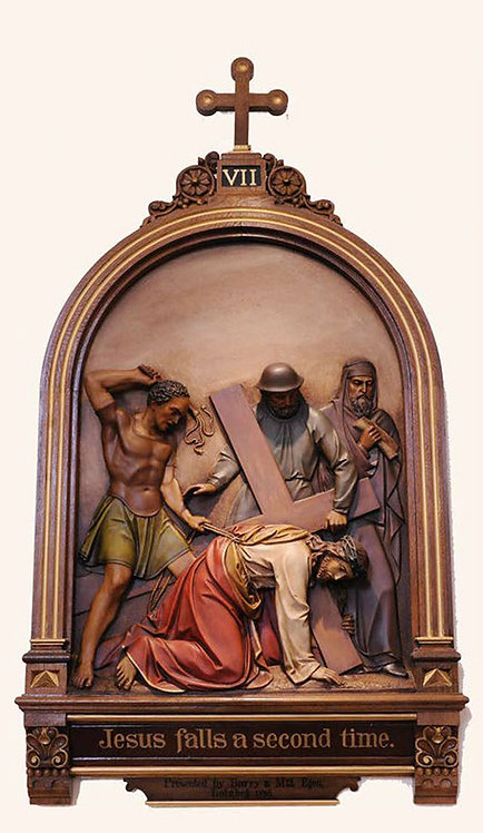 Station 7: Jesus Falls for the Second Time