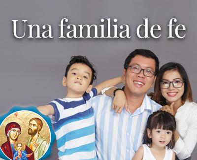 Una familia de fe